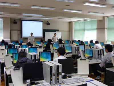 静岡商業高校・ITセミナー「PHP講座」を開催しました