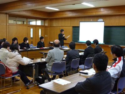 静岡商業・システム開発発表会
