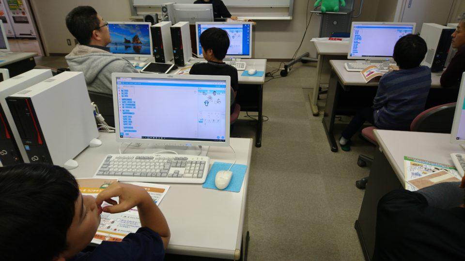 小学生プログラミング教室活動報告2
